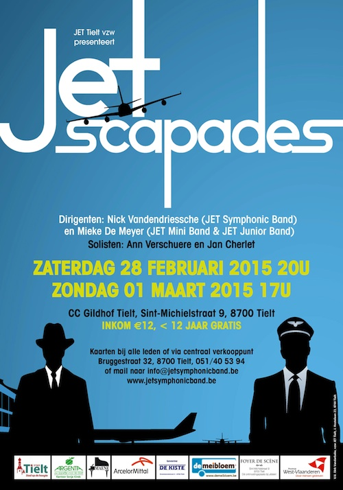 Jetscapades affiche